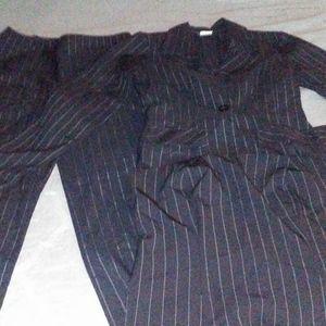 3 piece women's pant suit.